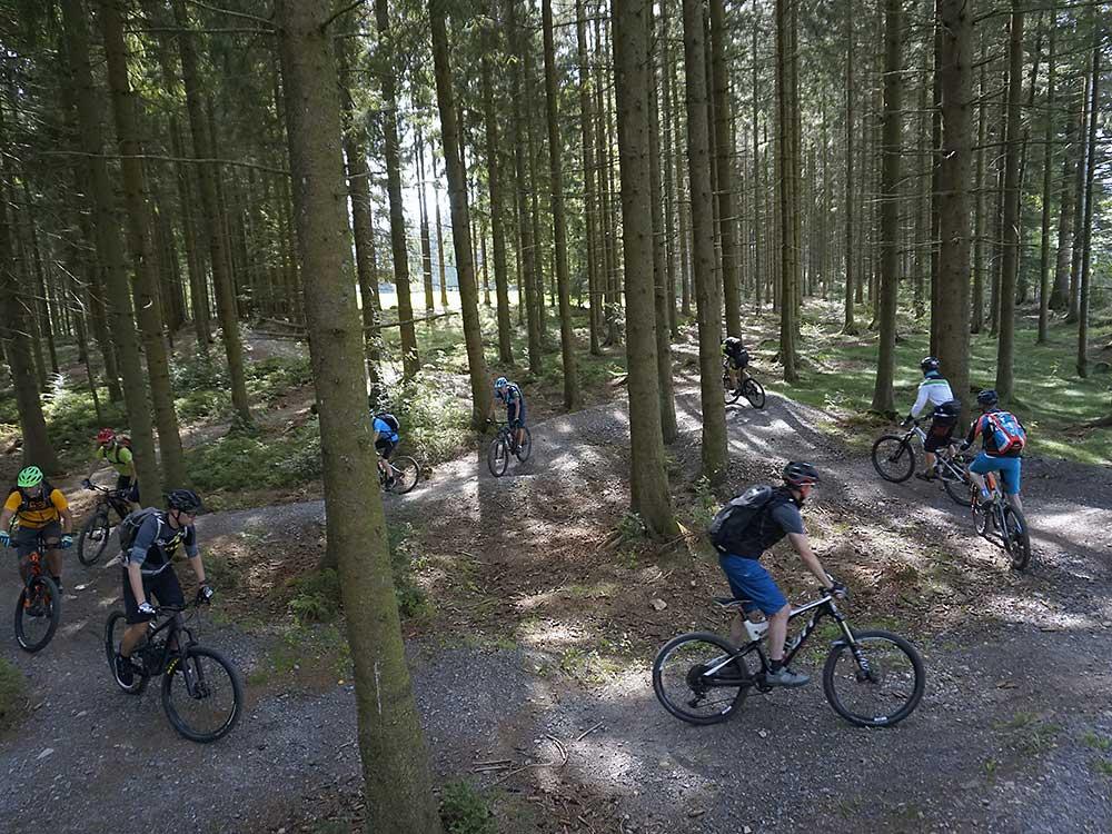 Übungen zur aktiv Position im Fun Park Breitnau