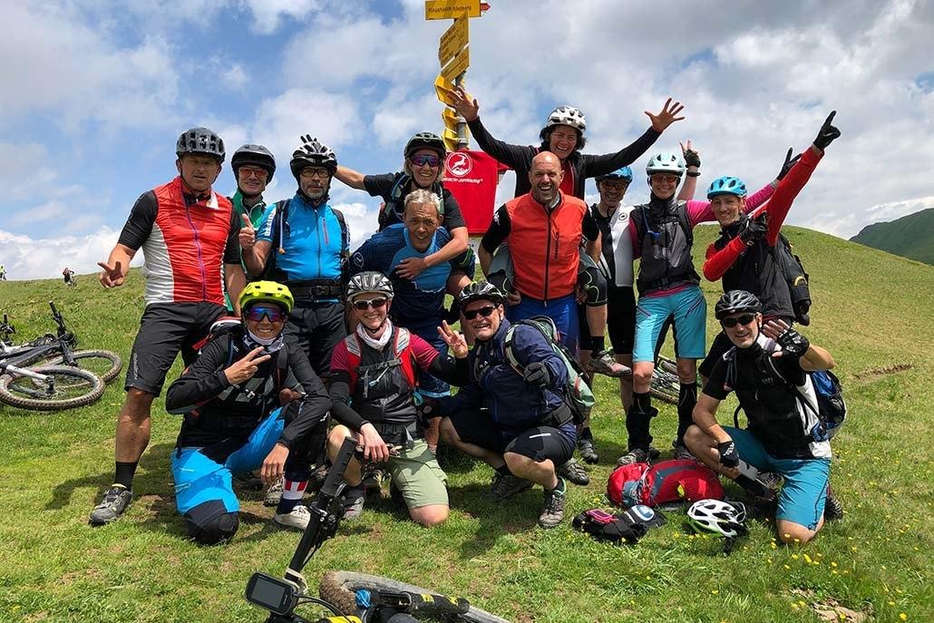 MTB Gruppe Alpencross Duranapass