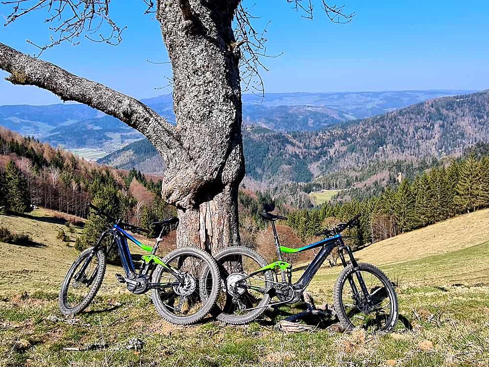 Pause E-Bike MTB Fahrtechnik Training