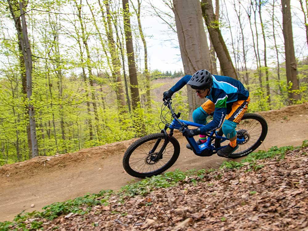 E-Bike Trail Fahrtechnik Training